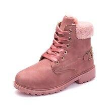 Sts/женские зимние ботинки; Розовые женские ботинки на платформе;