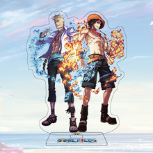 16Cm Anime Een Stuk Figuur Acryl Stand Model Speelgoed Marco & Ace Action Figures Decoratie Cosplay Anime Liefhebbers Collectie geschenken