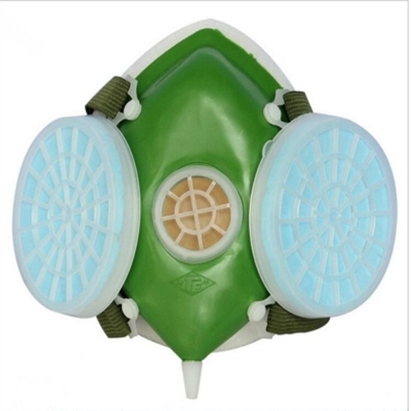 Safety Filters Respirator Protective Mask Half Face Rubber Mask Anti Dust Anti Vapors Masks