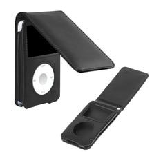 Кожаный чехол для Apple iPod Classic 80/120/160GB с Съемный зажим