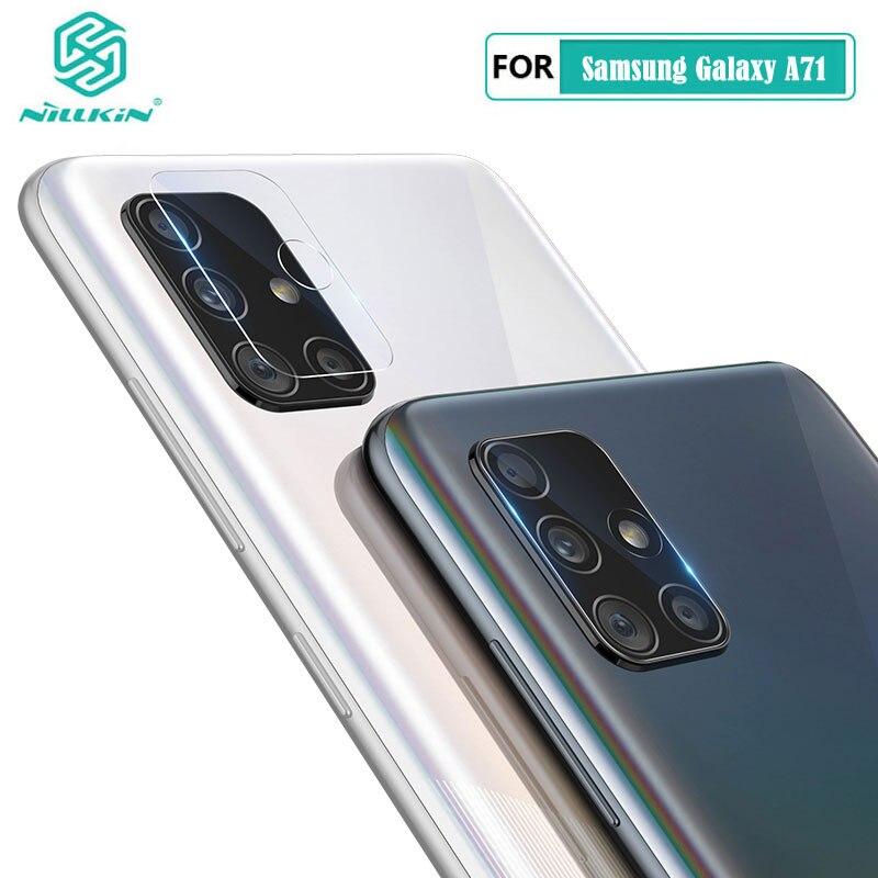 Cristal templado de lente de cámara trasera para Samsung Galaxy A51 Nillkin, Protector de cámara HD AR, película para Samsung Galaxy A71 Artesanías de cristal personalizadas en miniatura con forma de corazón romántico, regalos de amor, accesorios de decoración para el hogar DIY