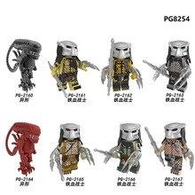 цена на PG8254 8PCS Set Building Blocks Super Heroes The God of War Movie Series Drax The Destroyer Model Figures For Children Toys