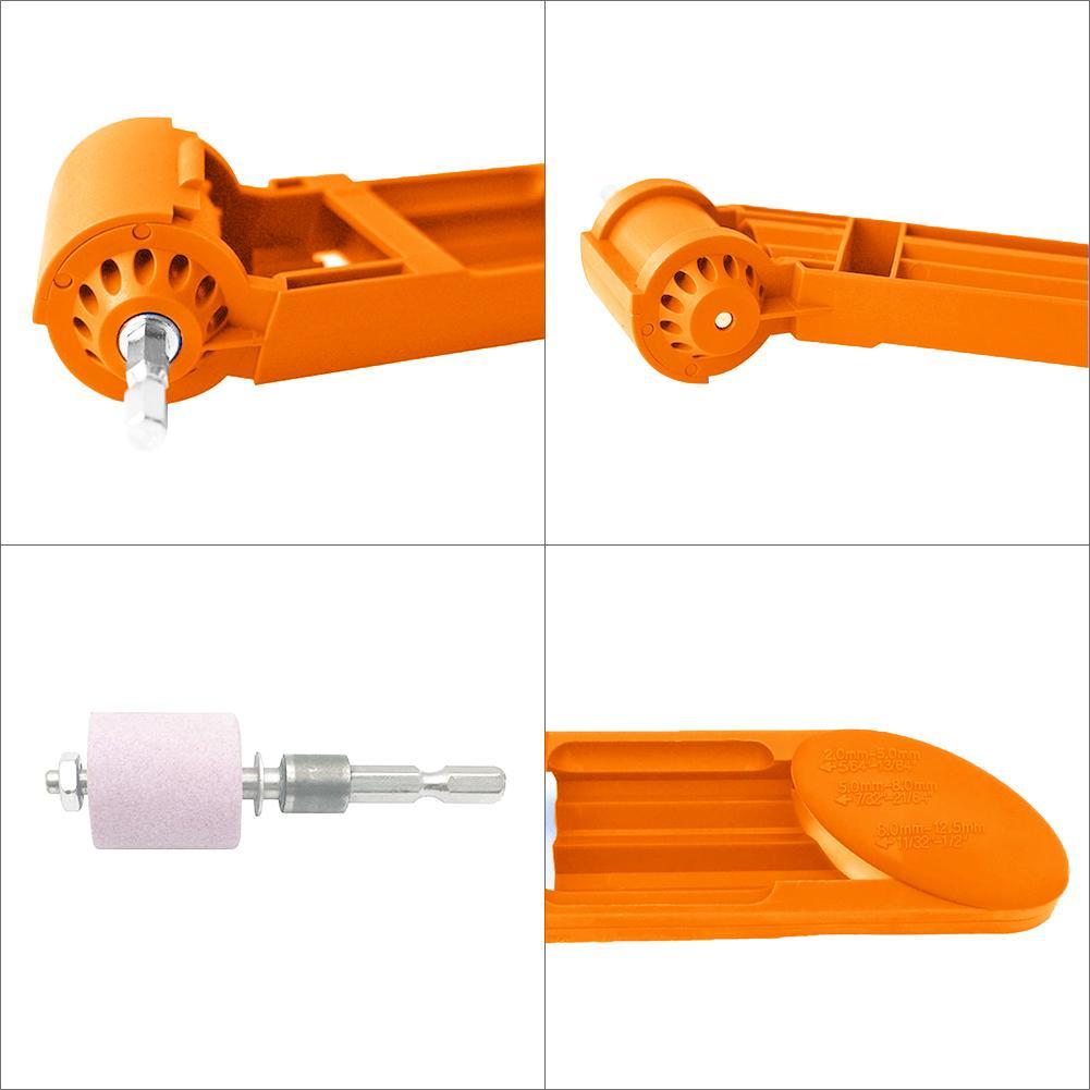 Точилка для сверл 2-12,5 мм корунд шлифовальный круг портативный Электроинструмент набор абразивных инструментов электроинструменты