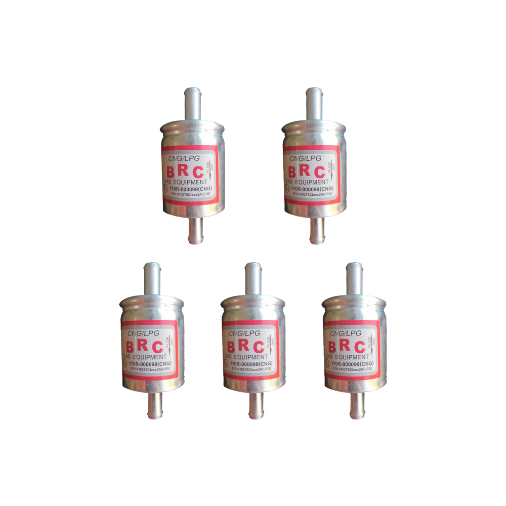 12mm 5pcs CNG/LPG Gas Filter