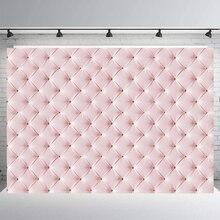 BEIPOTO розовое кожаное изголовье фотофоны фото реквизит для студии, фон виниловая ткань вечерние украшения wallpaperB-399
