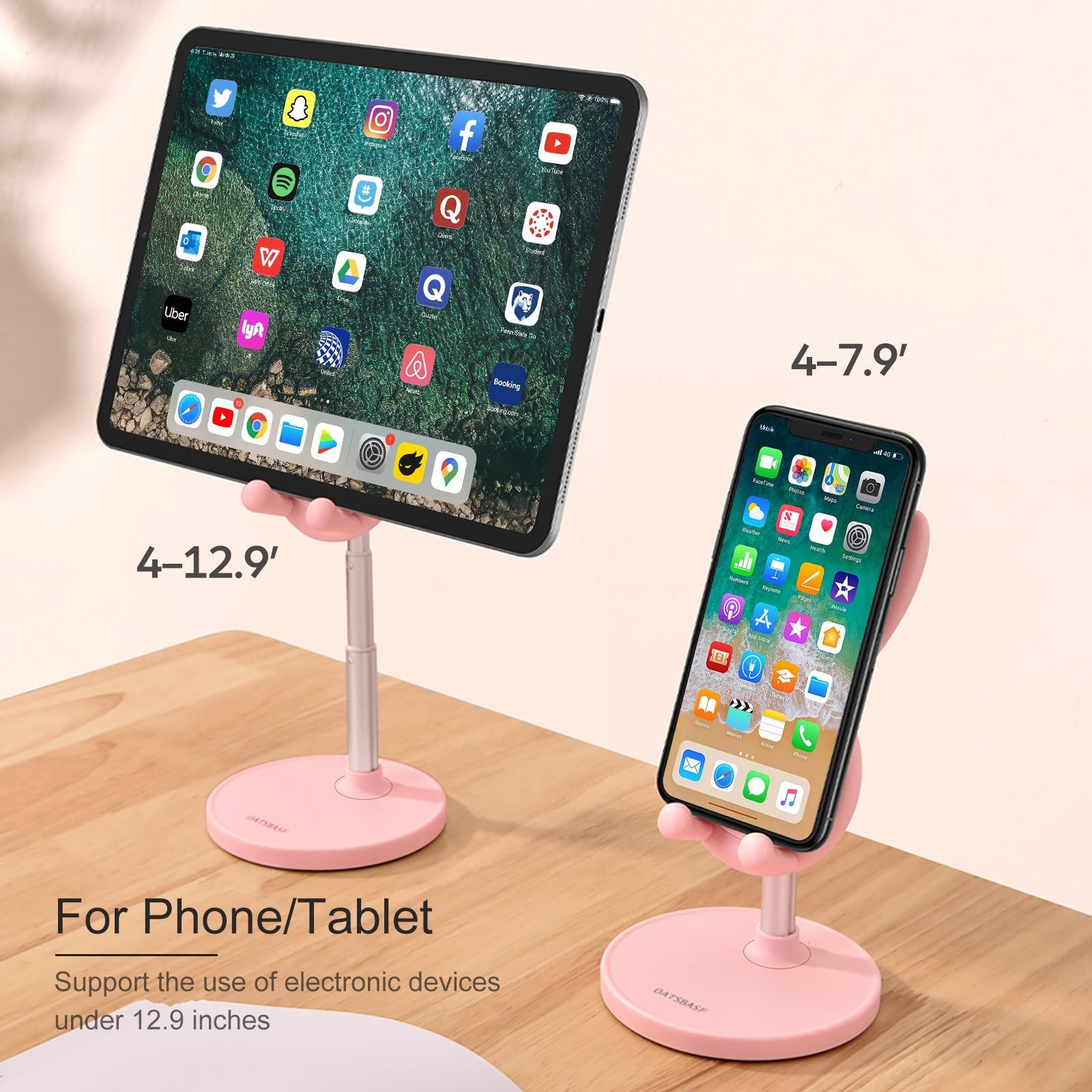 Kawaii Pink Bunny Phone Holder/Stand  5