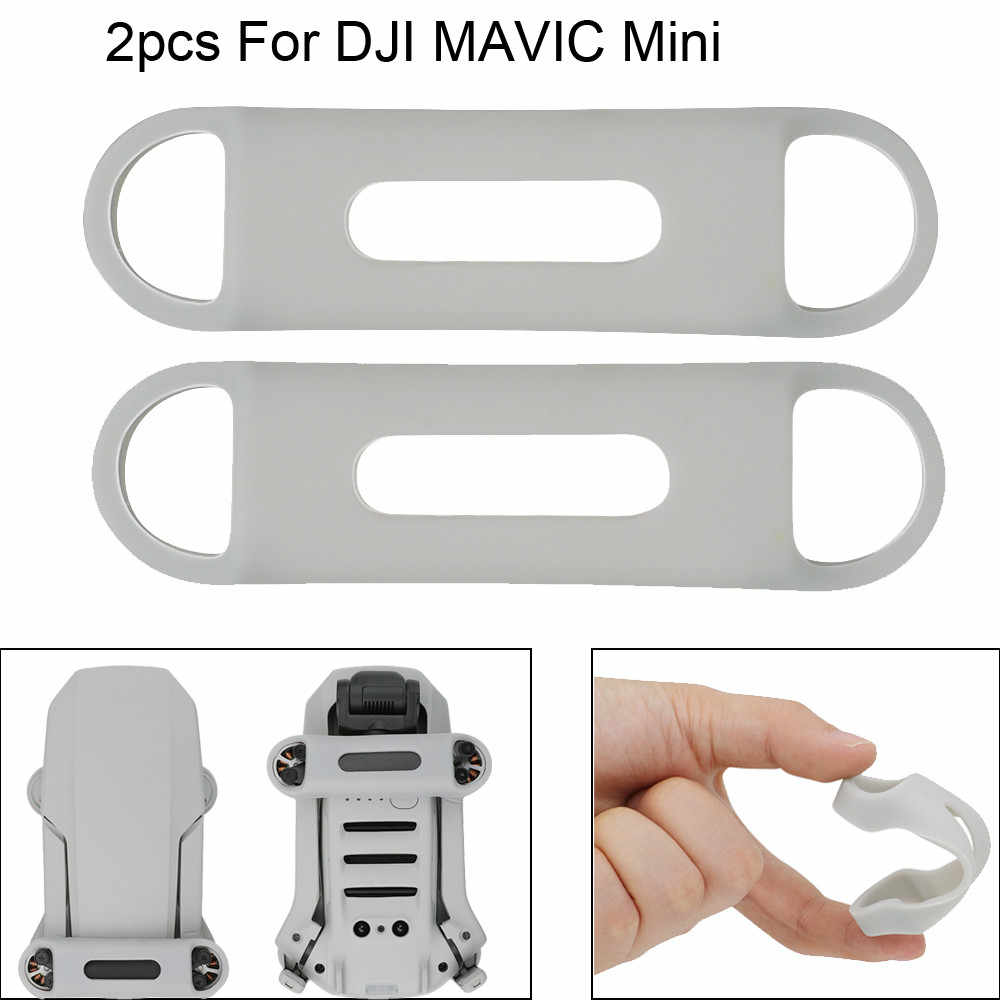 Silicone Propellers For DJI MAVIC Mini Drone Accessories Blade Stabilizer Holder Fixed Stabilizers Transport Protector 2pcs New