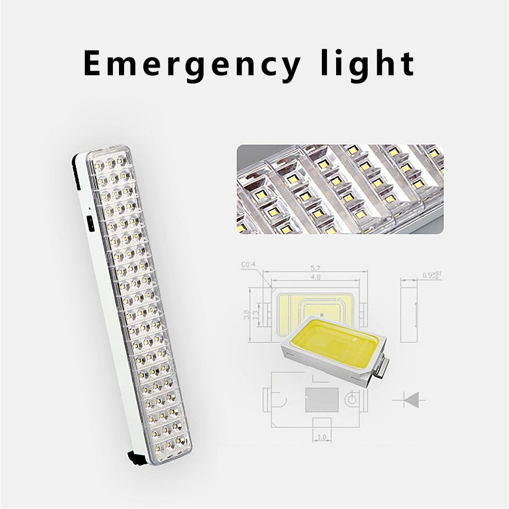 30/60/90 LED Multi-function Rechargeable Emergency Light Flashlight Mini 30 LED Emergency Light Lamp For Home Camp Outdoor
