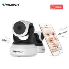 كاميرا Vstarcam C7824WIP IP تعمل بالواي فاي الأمن CCTV مراقبة فيديو مراقبة الطفل الأشعة تحت الحمراء للرؤية الليلية HD Eye4 بطاقة SD P2P Onvif