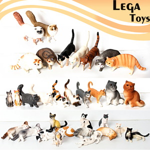 Realistic Persian Cat Siamese Wirehair Pet Cat Model toys Action Figure Educational Toy Gift Doll Home Decor Cats figurine