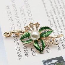 Gotejamento de óleo artesanato deixa broche pino para feminino vitage broche jóias roupas cachecol fivela acessórios para vestuário jóias finas