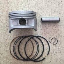 לjianshe 400 טרקטורונים JS400 Jianshe400 ATV400 אופנוע מנוע חלקי נשא גודל 83mm פין 19mm טבעת הבוכנה ערכת