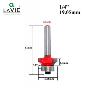 Image 3 - LAVIE 1 adet 6mm 1/4 Sap Küçük Köşe Yuvarlak Yönlendirici Bit için Ahşap Kenar Ağaç İşleme Değirmen Klasik Kesici Bit ahşap için MC01035