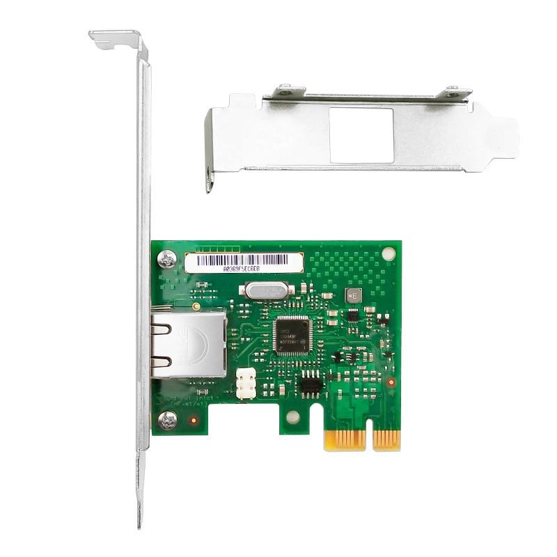 I210 Ethernet Server Adapter  ,Intel I210 Chip PCIe2.1 X1 RJ45 Single port 1000M 3