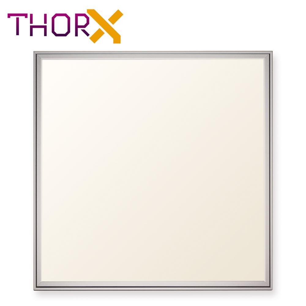 ThorX 60x60 cm Ultraslim LED Panel 36 W, 3000 Lm mit montage clips led treiber 100 240 V, kalt/warm/neutral weiß