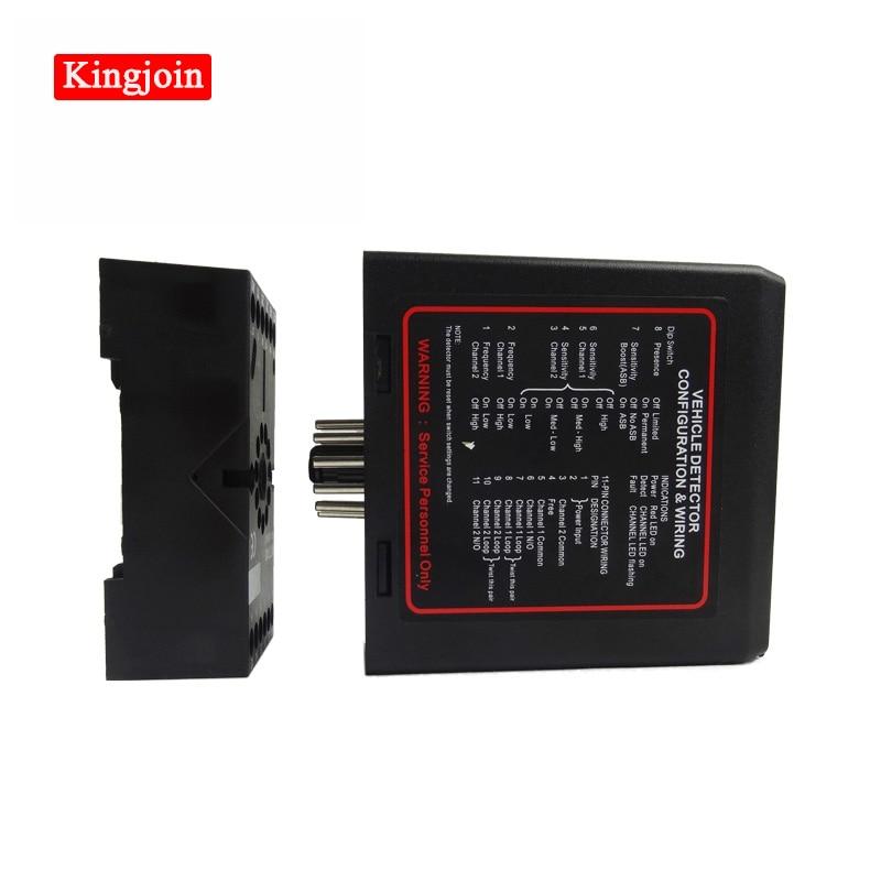 Detection Inductive Loop Detector Sensor Single Channel / Vehicle Detector Loop Detector /for Parking Barrie