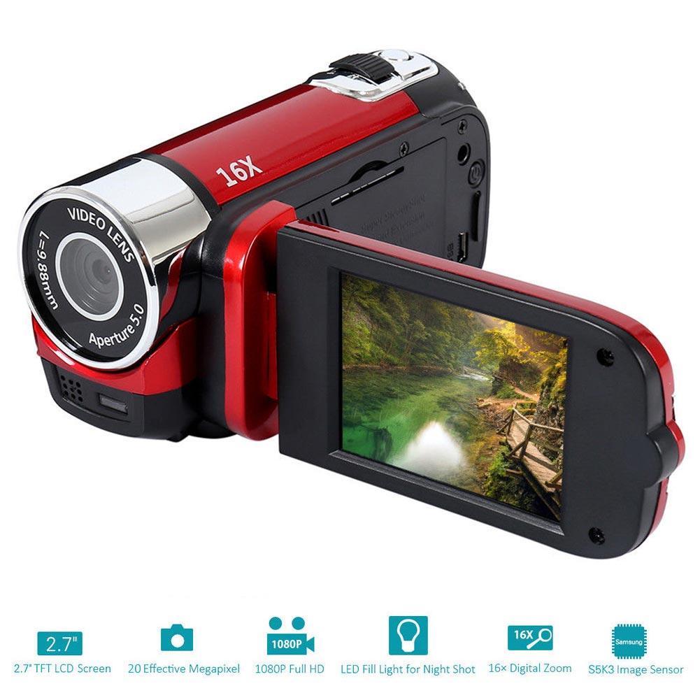 Hbaeafda05e554d2ab4eeea6a7bfb1e5cZ 1080P Anti-shake Gifts Digital Camera Portable Clear Camcorder Professional High Definition Shooting Wifi DVR Night Vision