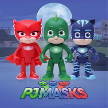 PJ Masks Three Styles Of Masks Model PVC Material Party Supplies Mask Toys For Boys And Girls
