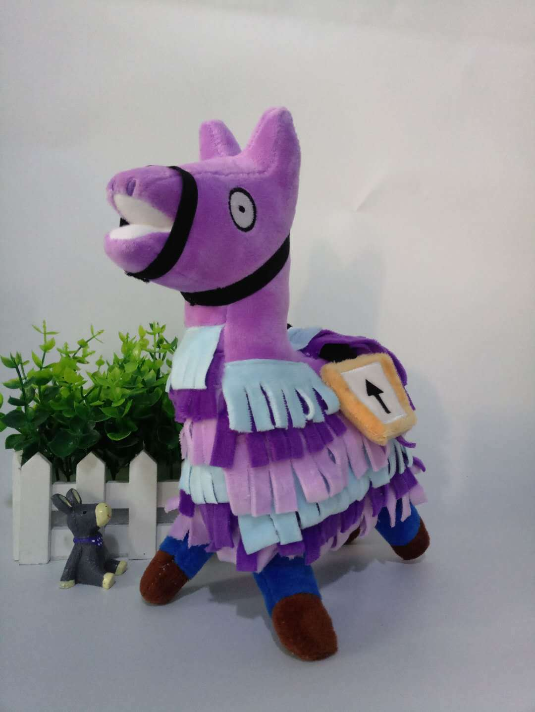 Hot Selling Mobilefortress Night Fortnite Plush Doll Game Related Grass Mud Horse Alpaca Rong Wan Ju Doll