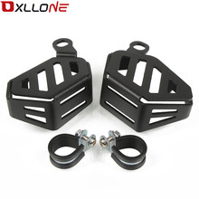1 pair Motorcycle CNC Radiator brake clutch Protective Cover Guards Grille  Protecter FOR R1200GS ADV 2014-2017