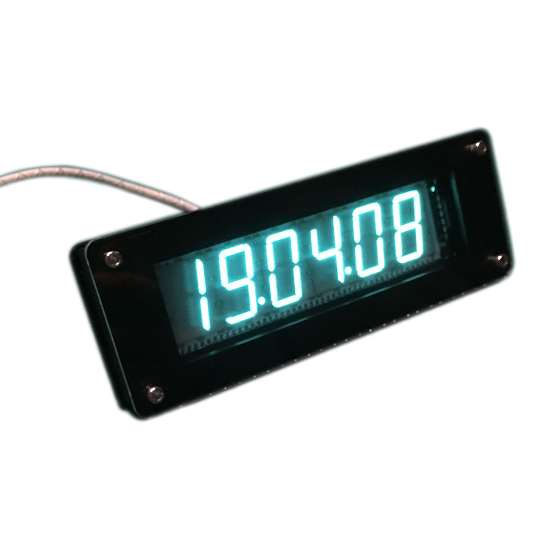 GPS Time Calibration Retro Electronic Clock DIY Fluorescent Tube Clock VFD Clock For Children Early Education Toys Birthday Gift