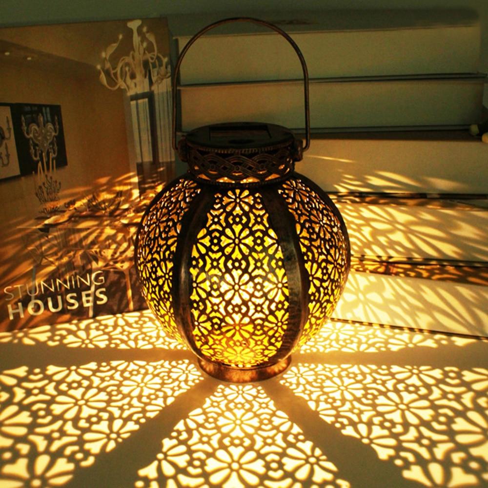 led lanterna pendurado ao ar livre lâmpada