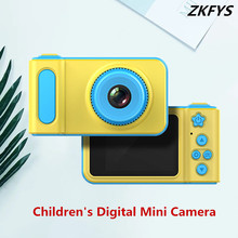 HD Kids Mini Digital Video Camera 2.0 inch Portable Small SLR Sports Toys Cartoon Game Photo Anti-shake