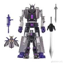 DX9 Transformation D14 D 14 Motormaster Menasor Capone Attila With Trailer Action Figure Robot Collection Toys