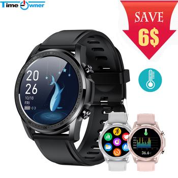 Youth2 inteligentny zegarek Monitor temperatury ciała Smartwatch sport podłączony zegarek Fitness Tracker wodoodporny zegarek damski tanie i dobre opinie Time Owner CN (pochodzenie) Brak Na nadgarstek Zgodna ze wszystkimi 128 MB Wiadomości z przypomnieniami Pilot MIESIĄC