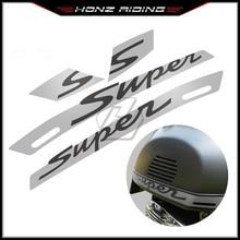 """สำหรับVespa GTS 300 GTS300 Super Sport Decal """"Super"""" สติกเกอร์"""