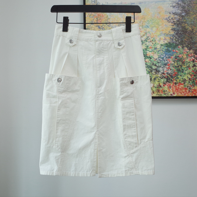 Women Skirt Cotton Denim Skirt