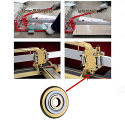22mm instrukcja płytki cegły nóż do wycinania głowy twardego stopu obrotowe koło łożyska wymiana cięcia dla akcesoria do maszyn tnących
