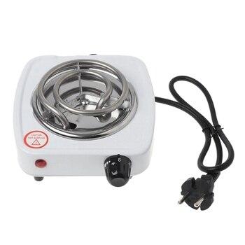 Gran oferta de estufa eléctrica de 220V y 500W, placa de hierro, quemador de cocina para el hogar, calentador de café, electrodomésticos de cocina para el hogar, enchufe europeo