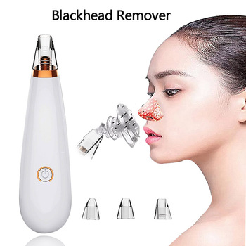 Blackhead Remover Facial Deep Pore Acne Pimple Cleaner Removal Vacuum Extractor Suction Face Beauty Clean Skin Care Tool diozo blackhead remover pore acne pimple removal face deep nose cleaner vacuum suction facial diamond beauty clean skin tool