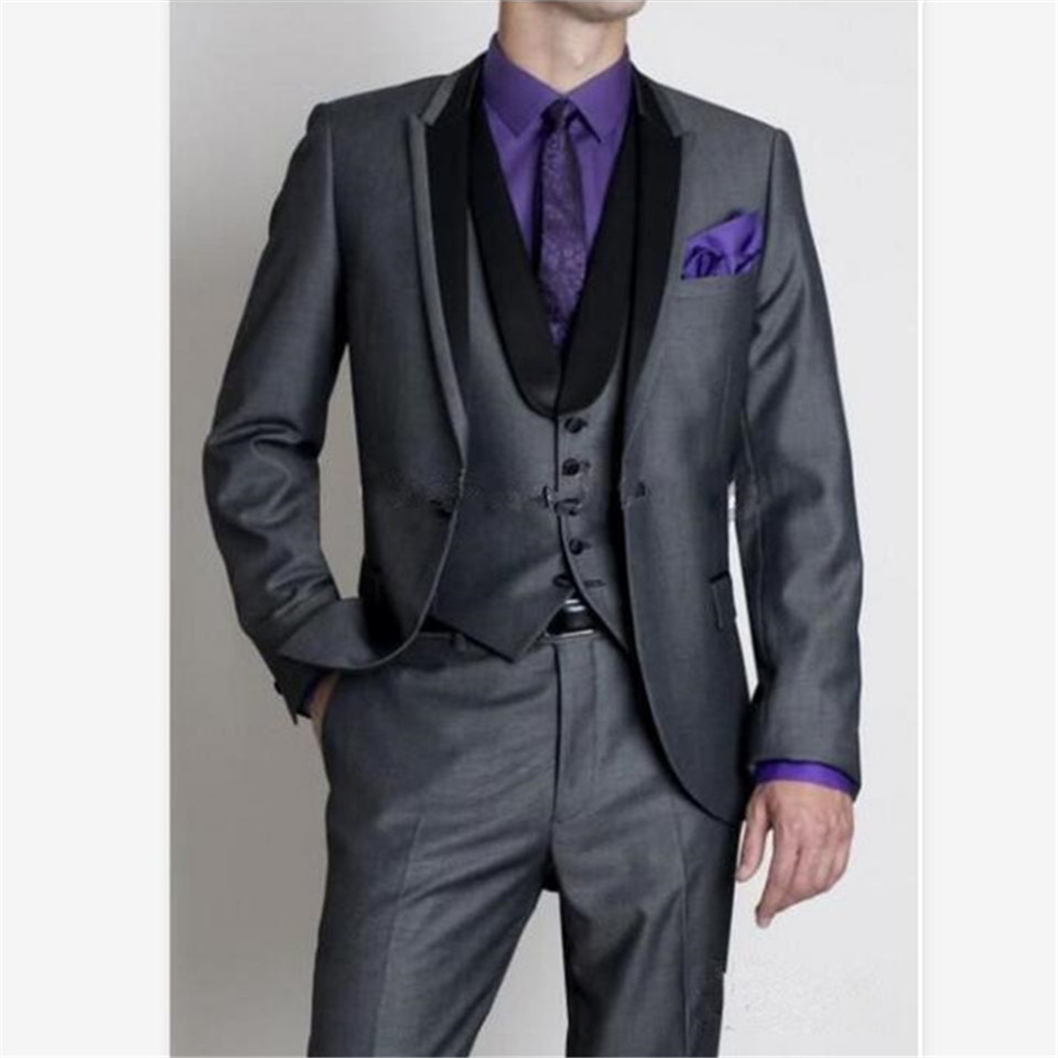 New Classic Men's Suit Smolking Noivo Terno Slim Fit Easculino Evening Suits For Men Casual Single Breasted Wedding Groom Stylis