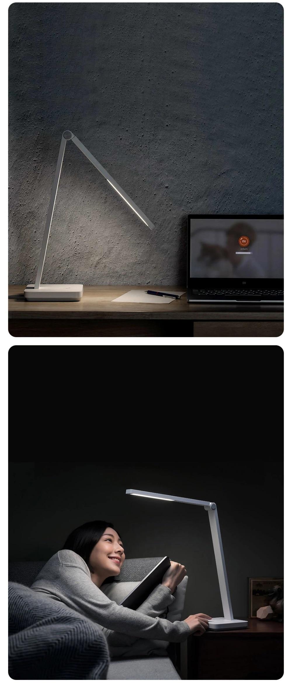 inteligente led lâmpada de mesa proteção para