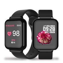 Waterproof Smart Watch 2020 Smart Watch B57 Amazfit Verge Lite Ticwatch Smart Watch Ios Smart Watch Women Android Smart Watch makibes x5plus smart watch black