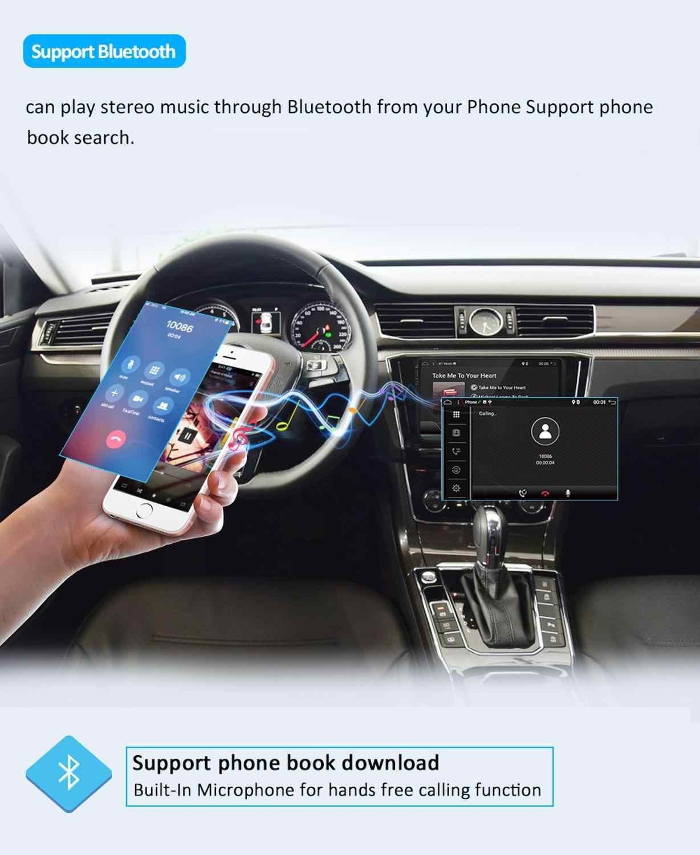 אנדרואיד 9.0 9 אינץ 2 דין מולטימדיה לרכב נגן DVD GPS ניווט עבור גולף 6 חדש פולו חדש בורה B6 פאסאט סקודה GPS מפת BT WIFI