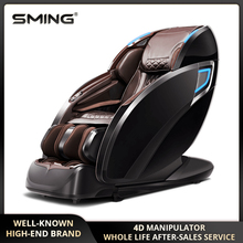 SM-885 143 CM SL Track 4D Professional Luxury Manipulator Zero Gravity Multifunctional Massage Chair With Electric Leg Extension