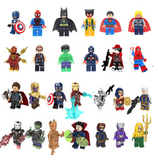 Iron Man Batman Single Sale Avengers Super Hero Compatible Legoingly F