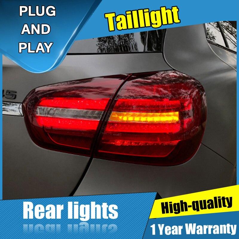 2PCS Car Styling For BMW GLA Taillights 2018-2020 For GLA LED Tail Lamp+Turn Signal+Brake+Reverse LED Light