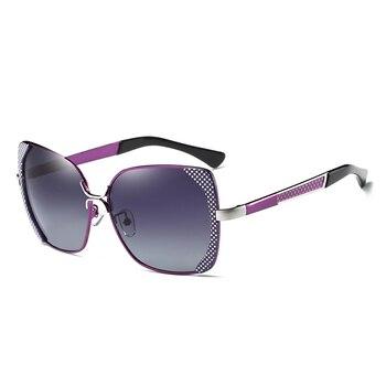 BARCUR Female Sunglasses Women Brand Designer Polarized Sunglasses Summer Lens Sun Glasses for Women Shades 8