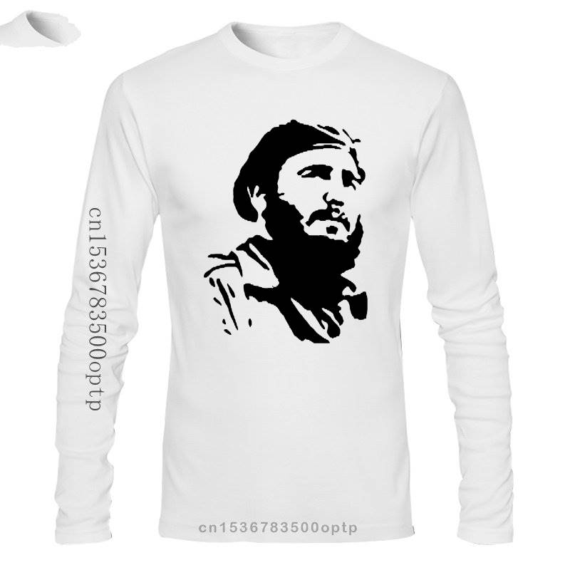 Fidel Castro Cuba Revolution Communist T Shirt Discount 100 % Cotton for Men'S Shirts Homme Novelty Men Hip Hop Street T-Shirt