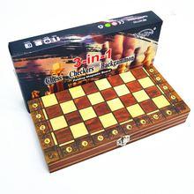 6 diferentes tipos de madeira magnética conjunto de xadrez dobrável felted placa de jogo interior armazenamento adulto crianças presente da família jogo tabuleiro xadrez