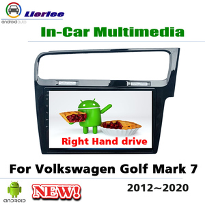 Car Multimedia Player For Volkswagen VW Golf MK7 RHD 2012~2020 Android Radio Stereo GPS Navigation Media System(China)