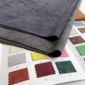 Темно-серая Толстая замшевая ткань 150 см * 100 см, воздушный слой, искусственная замша, флис, флис с курицей, эластичная ткань, модный материал