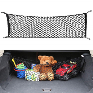 Black Universal Car Trunk Lugg