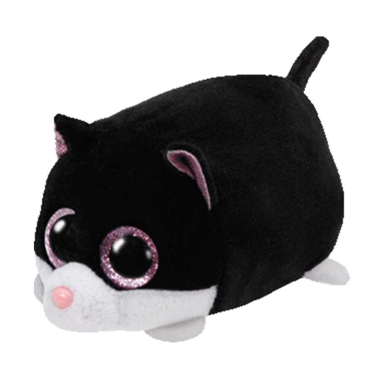 American Brand Tsum Mini 9CM Black Cat Plush Toy Cute Doll Cartoon Animal Plush Toy Anime Baby Toys For Girls