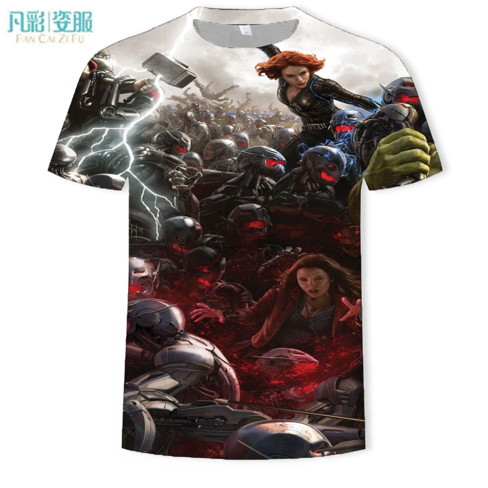 Summer New 3 D Printing Round Collar T-shirt Man Something Strange Men T-shirt Short Sleeve T-shirt Fashion Leisure Brand
