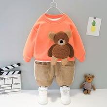 Комплекты зимней одежды для мальчиков Повседневный Топ с рисунком